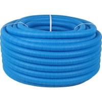 Защитная гофрированная труба Азимут, d-20, цвет синий
