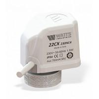 Электротермический компактный сервопривод Watts 22 CX