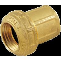 """3462W Tiemme Муфта с внутр.резьбой ISO228, с латунным кольцом 20 x 1/2"""""""