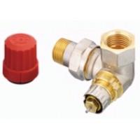 Трехосевой клапан для подключения радиатора слева , RTR-N 15 DANFOSS