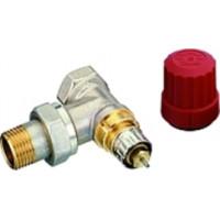 Клапан радиаторного терморегулятора прямой, никелированный, RTR-N 15 DANFOSS