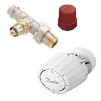 Купить Комплект терморегулятора Danfoss для двухтрубной системы отопления угловой, Ду 20 мм суперцена!