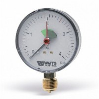 Манометр радиальный F+R200 63 мм (0-6 бар) WATTS