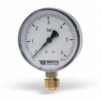 Манометр радиальный F+R200 80 мм (0-10 бар) WATTS