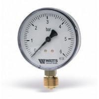 Манометр радиальный F+R200 80 мм (0-6 бар) WATTS