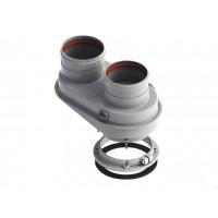 Разделительный элемент ф 60/100 мм - 2-х ф 80 мм /R1