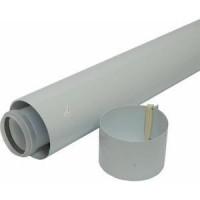Удлинительная труба 60/100 мм длиной 1 м