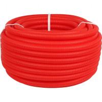 Защитная гофрированная труба Азимут, d-20, цвет красный